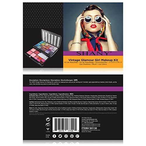 SHANY Glamour Girl Makeup Kit Eye shadow/Blush/Powder - Vintage by SHANY Cosmetics (Image #4)