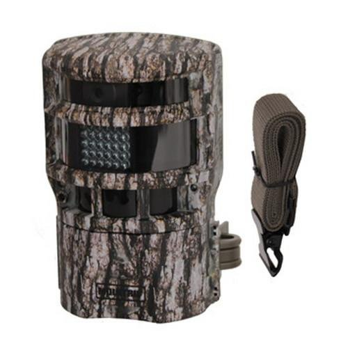 Moultrie Panoramic 150 Trail Camera, Camouflage, Free Fire 'N The Hole Scrape Mate