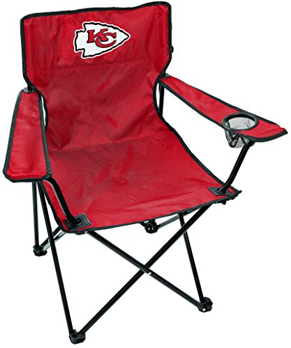 (Rawlings NFL Kansas City Chiefs Unisex LP0055NFL Game Day Elite Chair, Red, Adult)