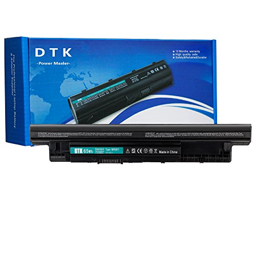 Dtk Laptop Battery for Dell Inspiron 14 3421 / 14r 5421 / 14r-(3437 5437 N3421 N5421) 15 3521 / 15r-(3537 5537 N3521 N5521 N5537) / 17 3721 / 17r-(5737 N3721 N3737 N5721 N5737) 17r 5721 / 15r 5521 MR90Y ( 11.1v 5200mah 6cells )
