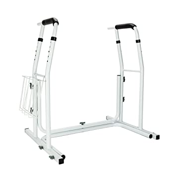 Amazon.com: Mefeir Toilet Grab Rail Stand Alone Medical Safety ...