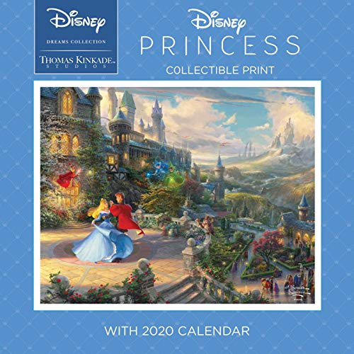 Thomas Kinkade Studios: Disney Dreams Collection 2020 Collectible Print with Wal: Disney Princess
