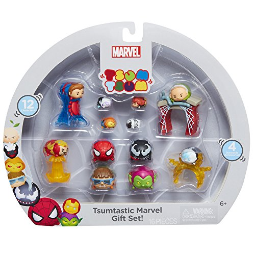 Tsum Tsum Marvel Spiderman 12 Figures Gift Set