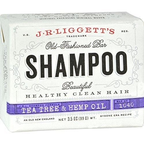 Shampoo-Tea Tree & Hemp Oil Formula – 3.5 oz. – Bar Soap ( Multi-Pack)