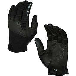 Oakley Mens Factory Lite Tactical Glove - Jet Black / 2X-Large