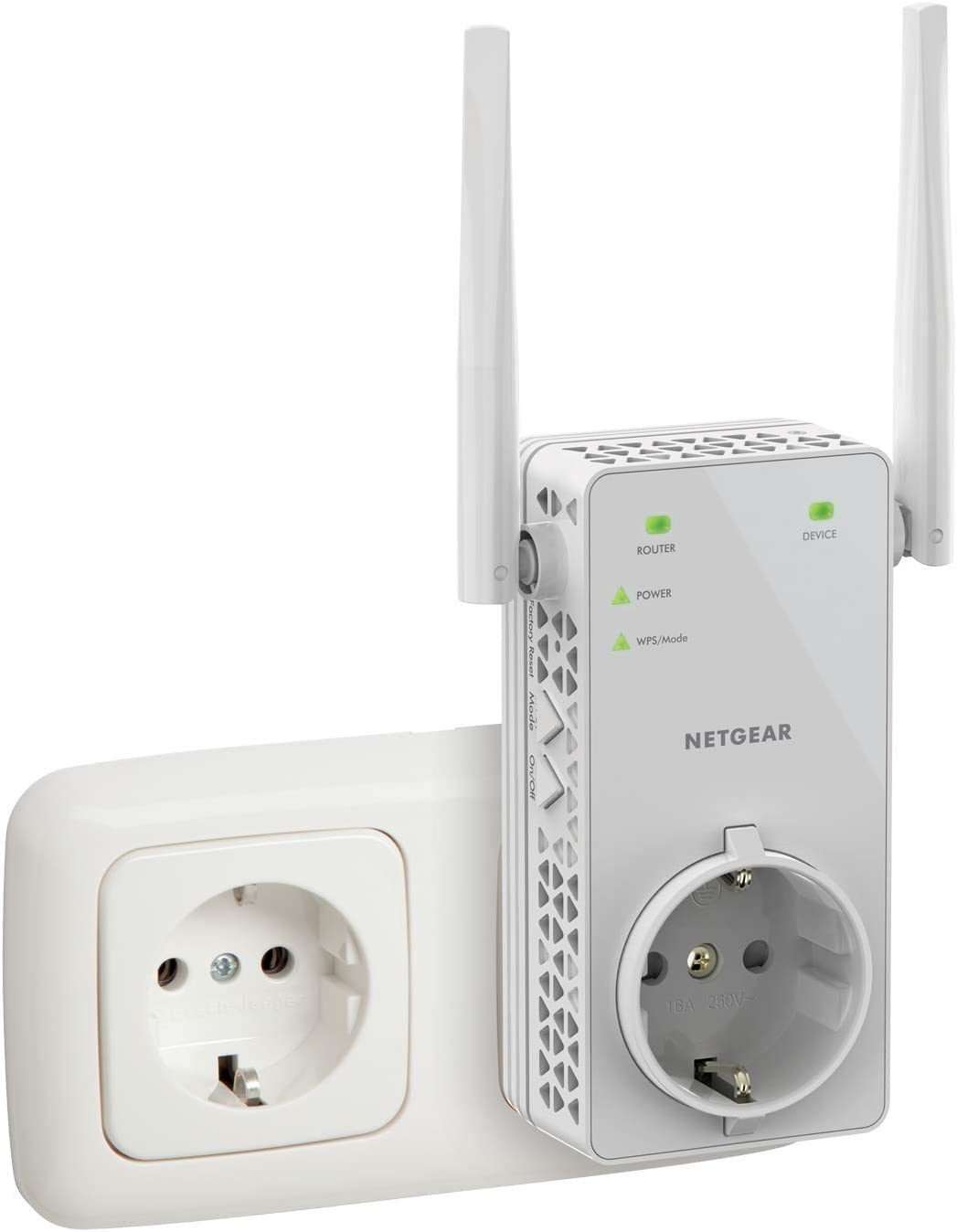 NETGEAR Répéteur WiFi (EX6130), Amplificateur WiFi AC1200, WiFi Booster, jusqu'à 90m² et...