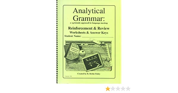 Analytical Grammar: A Systematic Approach to Language Mastery ...