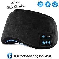 Bluetooth Sleeping Eye Mask   Sleep Headphones, LUXISE Wireless Bluetooth Headphones Music Travel Sleeping Headset 4.2 Bluetooth Handsfree Sleep Eye Shades Built-in Speakers Microphone