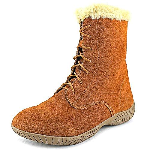 Style & Co Celie Rund Wildleder Mode Mitte Calf Stiefel Chestnut