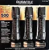 Duracell Durabeam Ultra LED Flashlight 500 Lumens, 3 Count