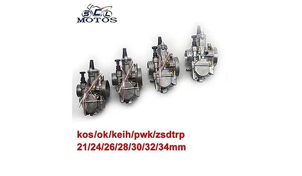 Carburador | Sclmotos | 21 24 26 28 30 32 34 mm para Keihii ...