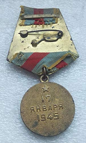 For the Liberation of Warsaw Original WW2 USSR Soviet Union Russian Military Veteran medal