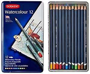 Derwent Water Color Pencils, Watercolor, Drawing, Art, 12-Pack  (32881)
