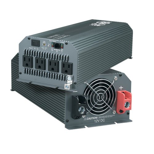 Tripp Lite PV1000HF PowerVerter Ultra-Compact Inverter 12V to 120VAC 1000 Watts (4) 5-15R Outlets