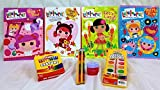 lalaloopsy coloring book - * Jumbo Poster Pad Bonus* Is Included in This...sew Fun ! Sew Magical ! Lalaloopsy Big Bonus Bundle of Fun ! ~ Gift Set ~ Which Includes 4 Lalaloopsy Coloring Activity Books with Pencils, Colors, and Water Color Paint Set ~ Layered with Love in Lot's of Colorful Tissue Paper Layers Including the Jumbo 20 Page Poster Pad of Loopsy Fun in This ~Gift Pack Set~