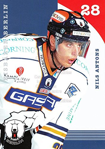 (CI) Nils Antons Hockey Card 2003-04 German Berlin Polar Bears Postcards 2 Nils ()