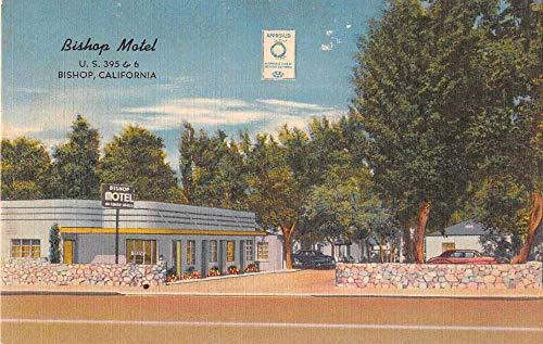 Bishop California Bishop Motel Roadside America Vintage Postcard AA467