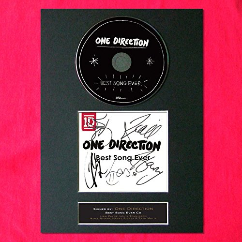 one direction autograph cd - 3