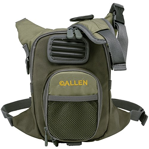 Allen Fall River Fishing Chest Pack, Olive (Fishing Chest Packs Fly)
