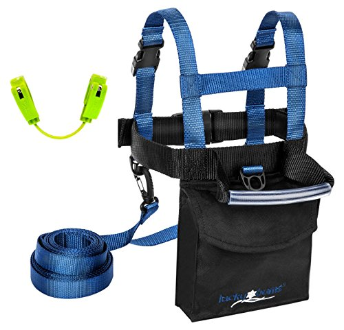 Lucky Bums Ski Trainer Kit, Navy, One Size ()