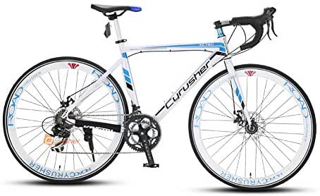 XC760 Cyrusher Mans Races Road Bike 52cm Aluminium Frame Tourney ST-A070 Shifting System 14 Speeds Disc Brakes