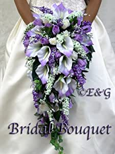 wedding bouquet bridal package bridesmaid groom boutonniere corsage silk flowers. Black Bedroom Furniture Sets. Home Design Ideas