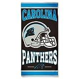 Carolina Panthers Beach Towel.