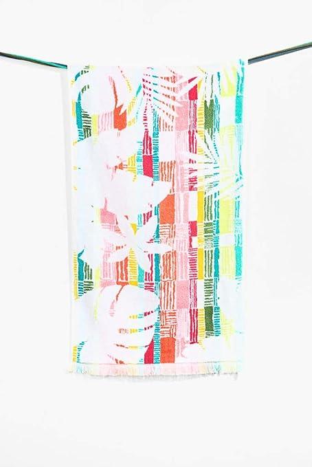 Desigual Towel Hands salvaje toalla de baño algodón verde 50 x 100 cm