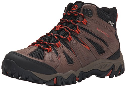 Bracken Footwear - Merrell Men's Mojave Mid Waterproof Hiking Boot, Bracken, 7.5 W US
