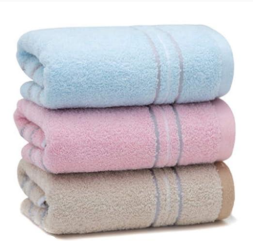 Liujingxue 3 Paquetes de Toalla algodón Lavado Cara doméstica ...