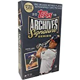 2018 Topps Archives Signature Series Baseball Retired Player Hobby Edition Factory Sealed 1 Pack Box