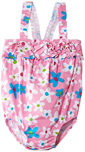 Hatley Summer Garden (Hatley   Baby Baby Girls' One Piece Swim Suit Summer Garden, Pink, 3 6 Months)