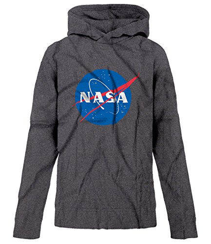 BSW Youth Boys NASA Space Astronomy Hoodie MED Dark Heather