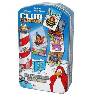 - Disney Club Penguin Fast Flippers Card Game