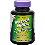 Natrol High Caffeine — 200 mg – 100 Tablets For Sale