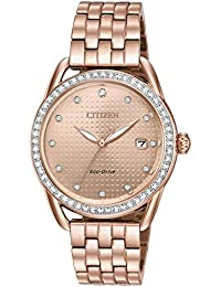 Watches Womens FE6113-57X Eco-Drive Rose Gold One Size