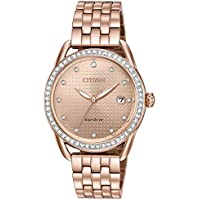 Citizen Watches Women's FE6113-57X Eco-Drive Rose Gold One Size