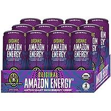 Sambazon Amazon Energy Drink, Original Acai Berry, 12 Ounce (Pack of 12)