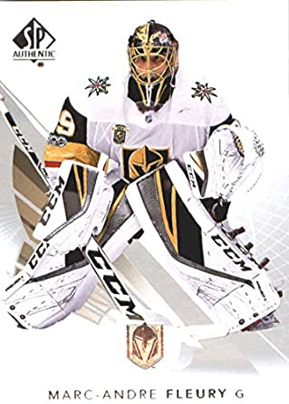 2017-18 SP Authentic  31 Marc-Andre Fleury Vegas Golden Knights NHL Upper b25123342