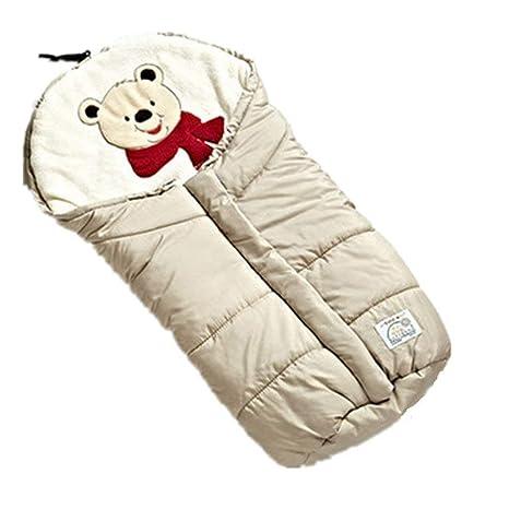 Bebé fuera del viento y cálido para sostener el saco de dormir. Carro multiuso.