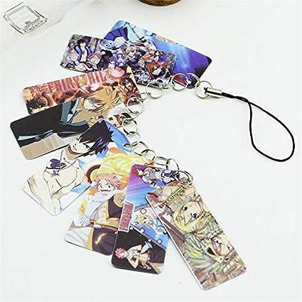 Amazon.com: Allegro Huyer Cartoon Anime Fairy Tail Photo PVC ...