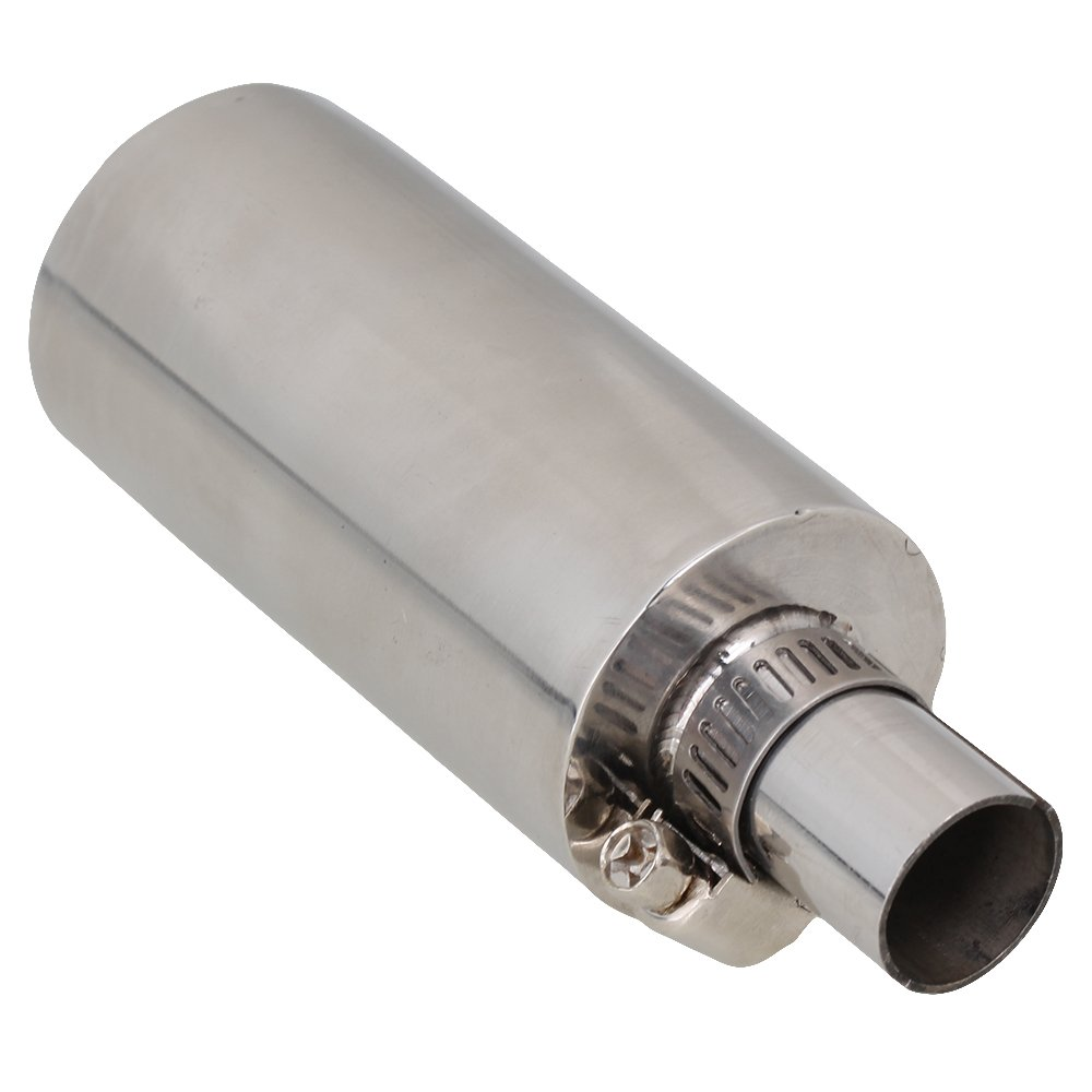 DLONY Stainless Steel Silencer for 23CC-35CC Gasoline Engine Accelerating Tube
