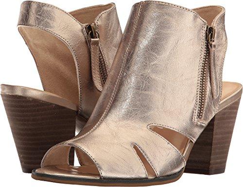 Bella Vita Women's Kimmy Heeled Sandal, Champagne, 9 W US