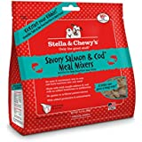 Stella & Chewy's Freeze-Dried Raw Savory Salmon & Cod Meal Mixers for Dogs, 3.5 oz.