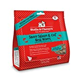 ingredient mixer - Stella & Chewy's Freeze-Dried Raw Savory Salmon & Cod Meal Mixers Grain-Free Dog Food Topper, 3.5 oz bag