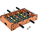 Toyshine Mid-sized Foosball, Mini Football, Table Soccer Game - Lets Have fun!
