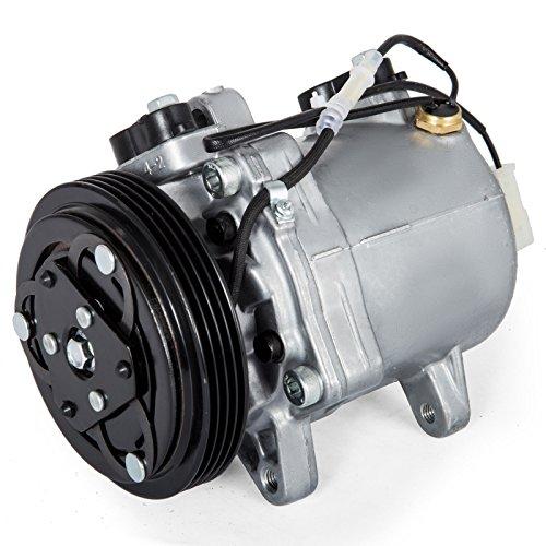(Mophorn 58407 Universal Air Conditioner AC Compressor CO 10620C 99000990887CH 1999-2005 for Grand Vitara Esteem 14155434 95-05 1.6L 2.0L)