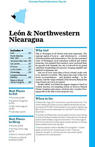 lonely planet nicaragua travel guide