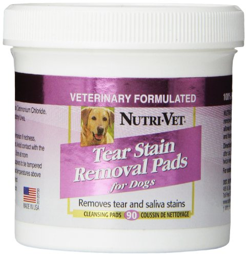 Nutri-Vet-Tear-Stain-Removal-Medicated-Pads-90-count