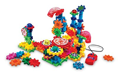 Learning Resources - Gears Gears Gears Lights And Action Building Set by Learning Resources
